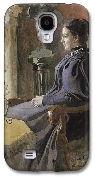 Eva Upmark, 1896  Galaxy S4 Case by Carl Larsson