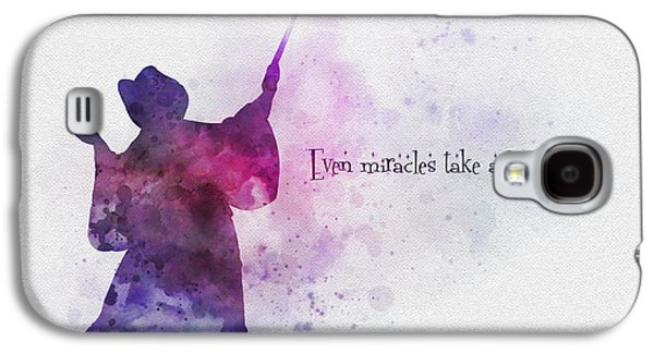 Even Miracles Take A Little Time Galaxy S4 Case by Rebecca Jenkins