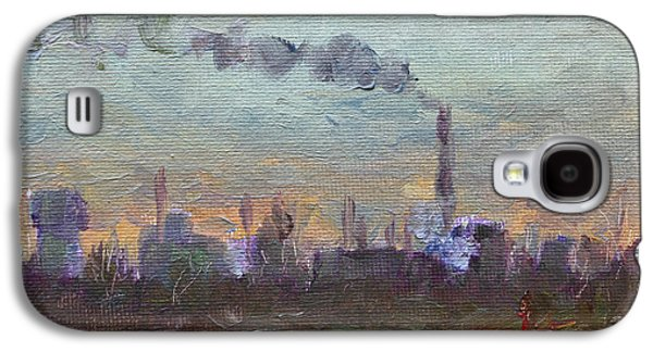 Evening By Industrial Site Galaxy S4 Case by Ylli Haruni
