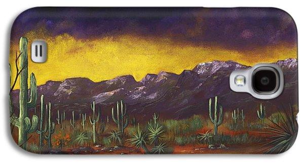 Evening Desert Galaxy S4 Case by Anastasiya Malakhova