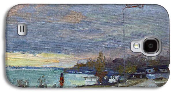 Evening In Gratwick Waterfront Park Galaxy S4 Case by Ylli Haruni