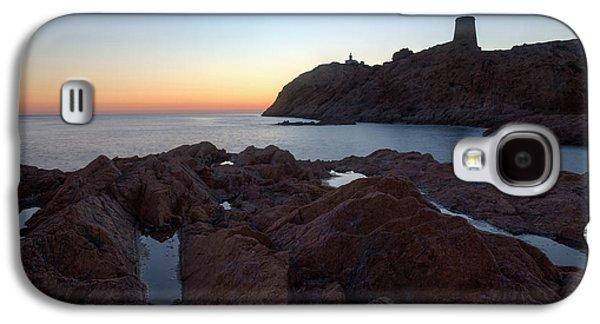evening in L'Ile Rousse - Corsica Galaxy S4 Case