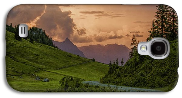 Evening In The Alps Galaxy S4 Case