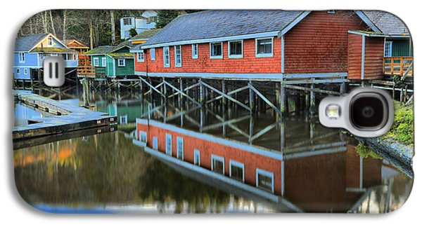 Evening Light At Telegraph Cove Galaxy S4 Case by Adam Jewell