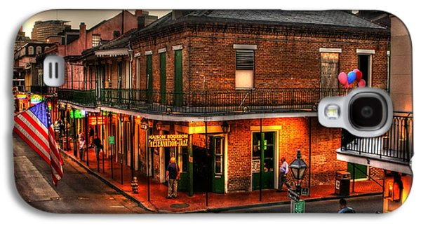 Evening On Bourbon Galaxy S4 Case by Greg and Chrystal Mimbs