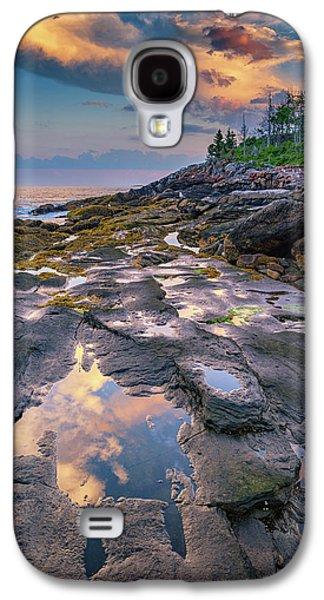 Evening Reflection, Bristol, Maine Galaxy S4 Case by Rick Berk