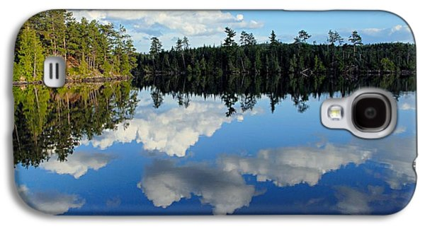 Evening Reflections On Spoon Lake Galaxy S4 Case by Larry Ricker