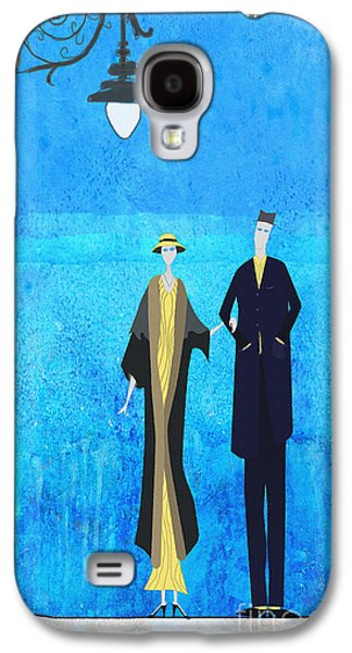 Evening Walk Galaxy S4 Case