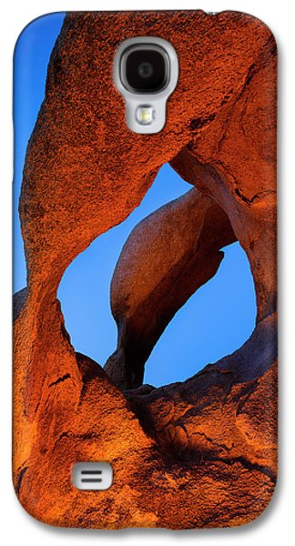 Evening's  Eye Galaxy S4 Case by Mike Lang