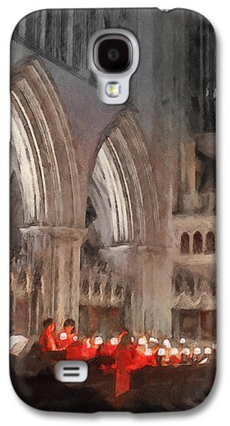 Evensong Practice At Wells Cathedral Galaxy S4 Case