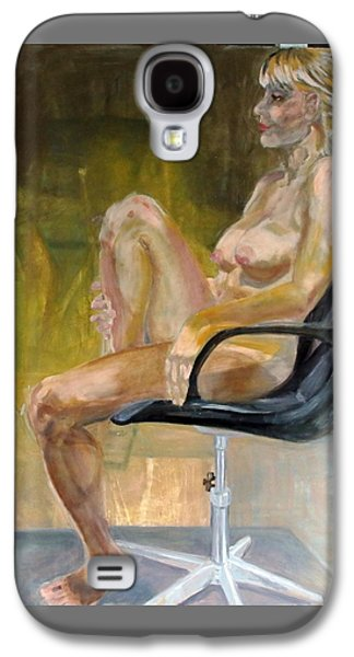 Every Empty Chair Has It's Own Ghost   Galaxy S4 Case by Irene Vital
