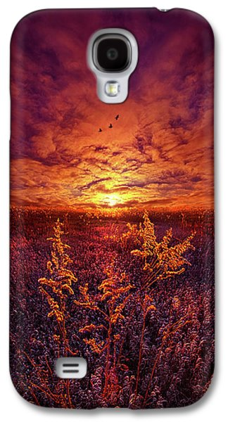 Every Sound Returns To Silence Galaxy S4 Case by Phil Koch