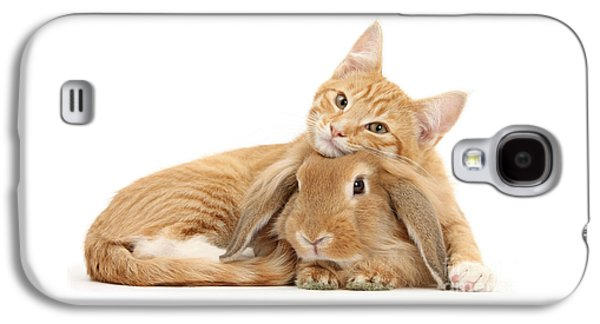 Everybody Needs A Bunny For A Pillow Galaxy S4 Case