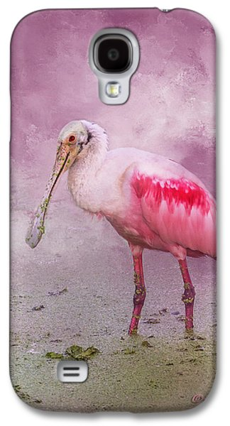Spoonbill Galaxy S4 Case - Everything Is Rosie by Marvin Spates
