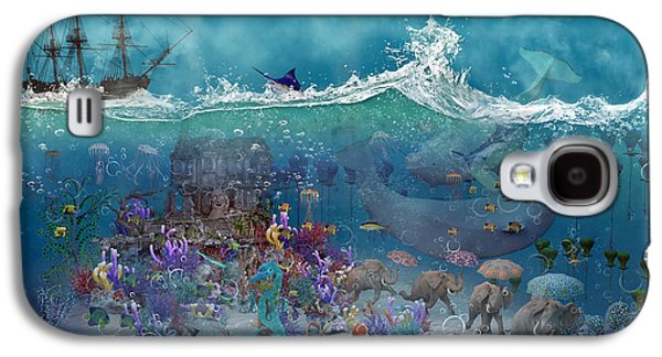 Everything Under The Sea Galaxy S4 Case