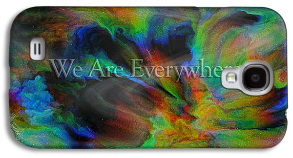 Everywhere Galaxy S4 Case by Betsy Knapp