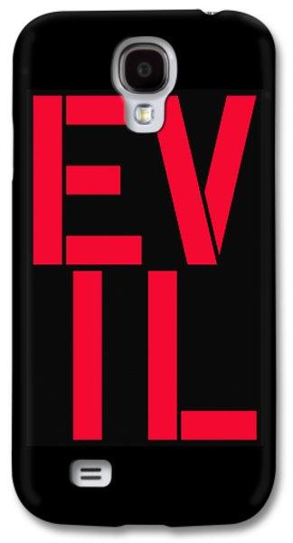 Evil Galaxy S4 Case
