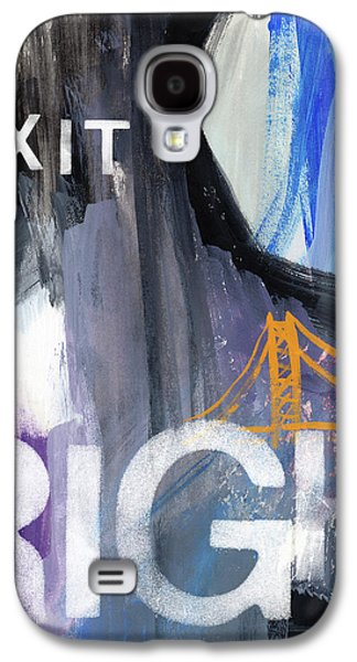 Exit Right- Art By Linda Woods Galaxy S4 Case