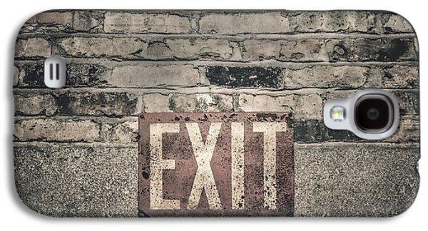 Exit Galaxy S4 Case by Scott Norris