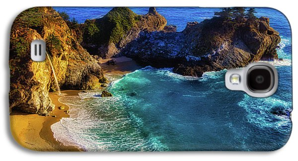 Exotic Big Sur Waterfall Galaxy S4 Case