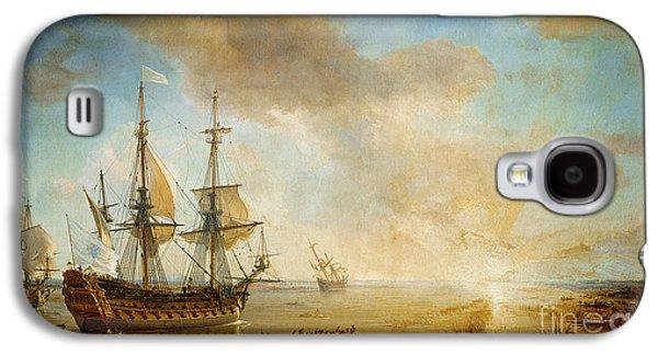 Expedition Of Robert Cavelier De La Salle  Galaxy S4 Case by Jean Antoine Theodore Gudin