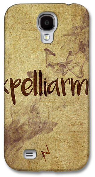 Wizard Galaxy S4 Case - Expelliarmus by Samuel Whitton