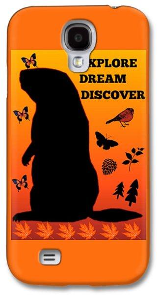 Explore, Dream, Discover, Galaxy S4 Case