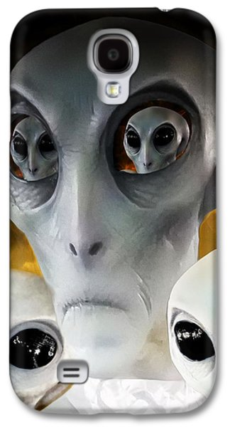 Extraterrestrial Insight Galaxy S4 Case