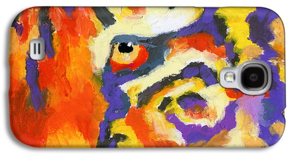 Eye Of The Tiger Galaxy S4 Case by Stephen Anderson