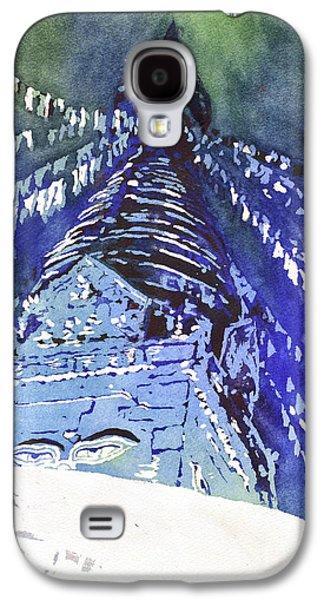 Eyes Of Buddha- Nepal Galaxy S4 Case