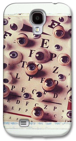 Eyes On Eye Chart Galaxy S4 Case
