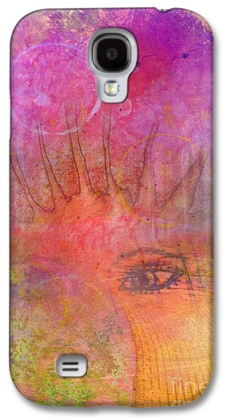 Eyes To The Soul Galaxy S4 Case by Desiree Paquette