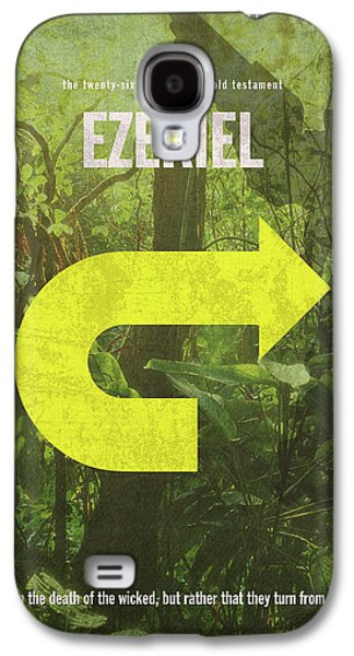 Ezekiel Books Of The Bible Series Old Testament Minimal Poster Art Number 26 Galaxy S4 Case