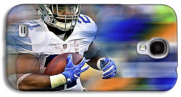 Ezekiel Elliot, Number 21, Running Back, Dallas Cowboys Galaxy S4 Case