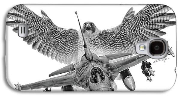 Viper Galaxy S4 Case - F-16 Fighting Falcon by Dale Jackson
