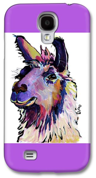 Llama Galaxy S4 Case - Fabio by Pat Saunders-White