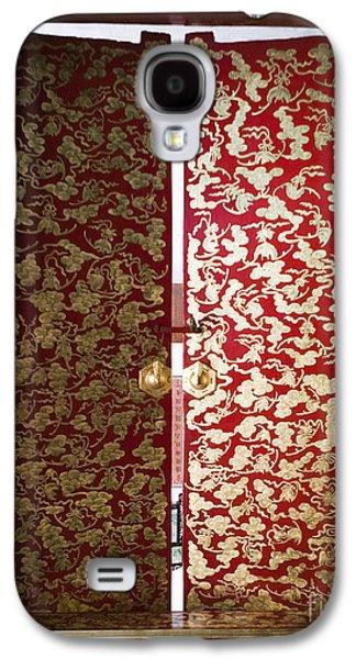 Fabric-covered Window Galaxy S4 Case