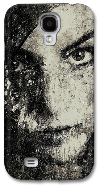 Face In A Dream Grayscale Galaxy S4 Case