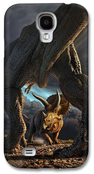 Face Off Galaxy S4 Case by Jerry LoFaro