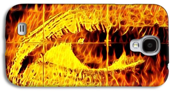 Face The Fire Galaxy S4 Case