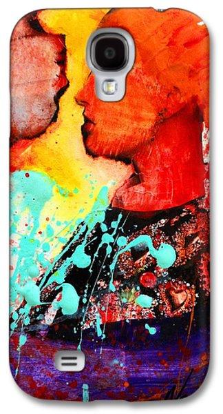 Facing The Self Galaxy S4 Case by Nevena Bentz