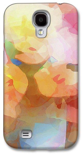 Faded Flowers Galaxy S4 Case by Lutz Baar