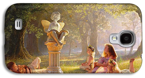 Sisters Galaxy S4 Cases - Fairy Tales  Galaxy S4 Case by Greg Olsen