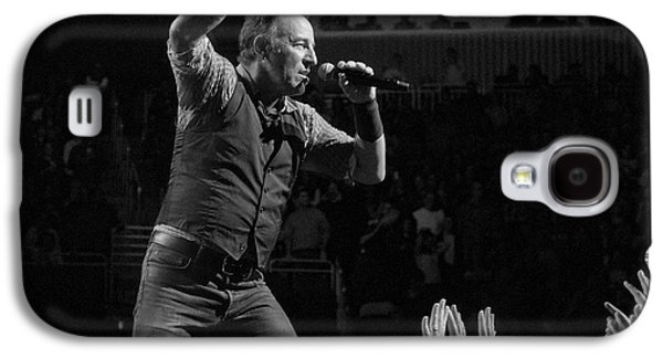 Bruce Springsteen Galaxy S4 Case - Faith Will Be Rewarded by Jeff Ross