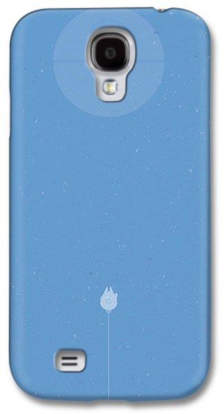Falcon Galaxy S4 Case - Falcon Attack by Samuel Whitton