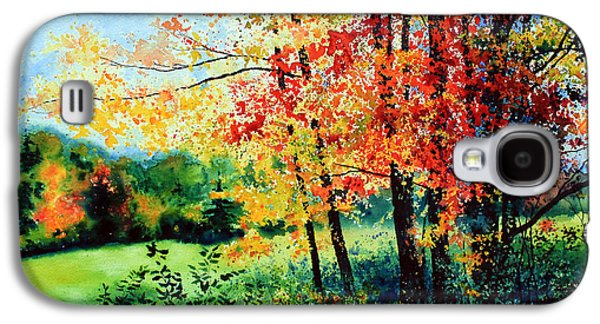 Autumn In The Country Galaxy S4 Cases - Fall Color Galaxy S4 Case by Hanne Lore Koehler