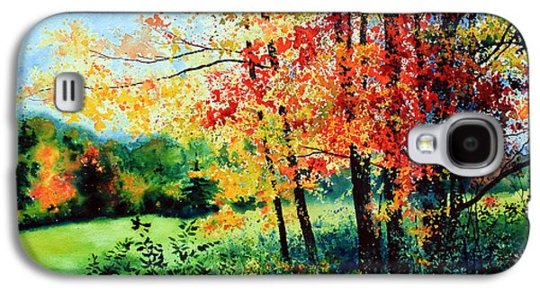 Fall Color Galaxy S4 Case by Hanne Lore Koehler