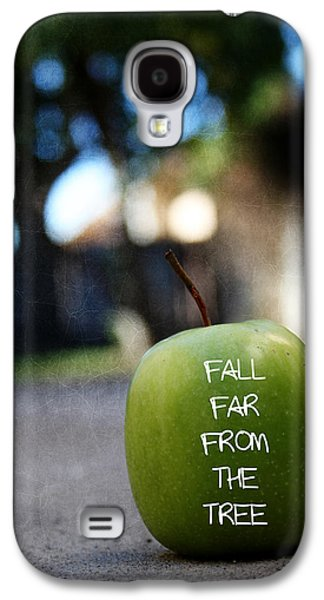 Fall Far From The Tree- Art By Linda Woods Galaxy S4 Case by Linda Woods