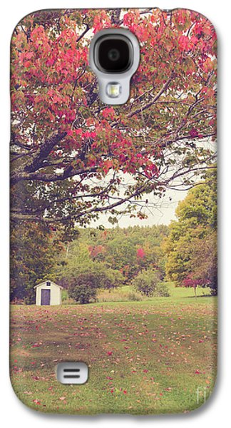 Fall Foliage And Old New England Shed Galaxy S4 Case