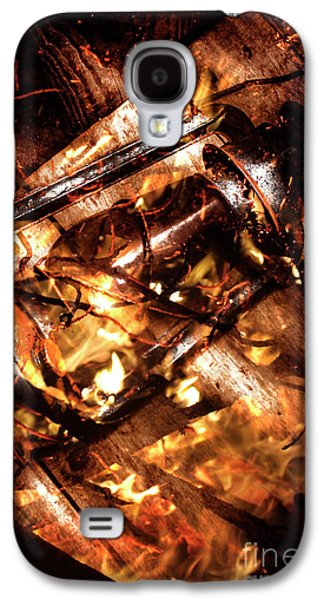 Fall In Fire Galaxy S4 Case by Jorgo Photography - Wall Art Gallery